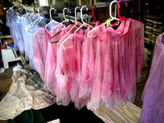 Dance costume DIY... add a watercolor look with some Rit dye and a spray bottle