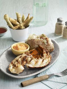 Grilled Lobster with Lime-Bay Buttercountryliving