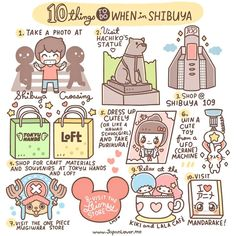 10 Things To Do When in Shibuya, Tokyo!