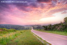 Loess Hills National Scenic Byway: Iowa Tourism Map, Travel Guide ...