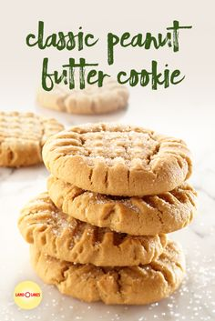 A peanut butter cookie recipe is always a hit. Our classic peanut butter cookies are a favorite the whole family will love. A peanut butter cookie recipe is always a hit. Our classic peanut butter cookies are a favorite the whole family will love. Nutter Butter, Peanut Butter Cups, Classic Peanut Butter Cookie Recipe, Homemade Peanut Butter Cookies, Favorite Cookie Recipe, Butter Chocolate Chip Cookies, Peanut Butter Oatmeal, Fudge, Cookies