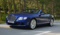 Okay, even I could look good in this Bentley Continental GTC. The EXP9 sport ute? Not so much.