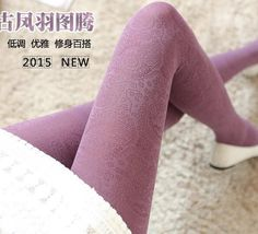 Fashion warm winter Stocking Retro Hollow Out Totem Velvet Backing high Elasticity Pantyhose Not Opaque Thick Tights 6 Colors