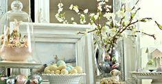 It seem as though we just decorated for Christmas and now its time to bring out the Spring and Easter decor. Where did the time go? This...