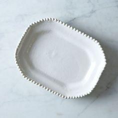 Handmade Ceramic Octagonal Plate by Frances Palmer