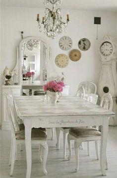 Idee per arredare un soggiorno in stile shabby chic | Soggiorno ...