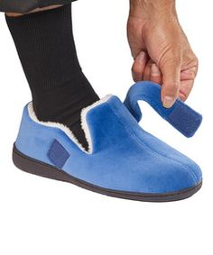 17d4e6c46e2d Mens Extra Extra Wide Slippers - Slippers For Swollen Feet - Diabetic    Edema Deep Slippers