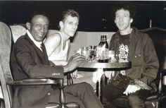 Lee Dorsey, Paul Simonon and Bob Gruen