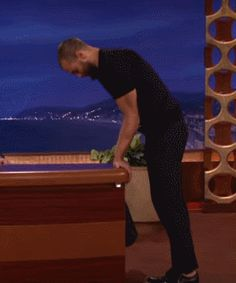 "— Jamie Dornan demonstrating handstand on ""Conan. Fifty Shades Darker, Fifty Shades Of Grey, Anastasia Grey, Luke Grimes, Jaime Dornan, Mr Grey, Love Scenes, Sex And Love, People"