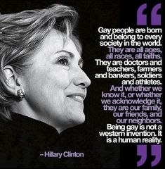 Hillary Clinton memes | hillary-clinton-quote-gay-rights