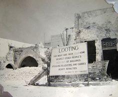 World War Two, location unknown, possibly Algeria