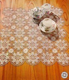 "Crochet: WIPE ""SNOW CRYSTAL"""
