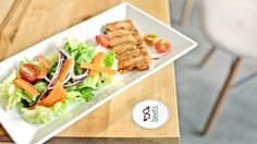 Salmon Steak in The Perfect Portion - 110k beets - the salad bar 111 Ham Nghi, D1, Hochiminh City