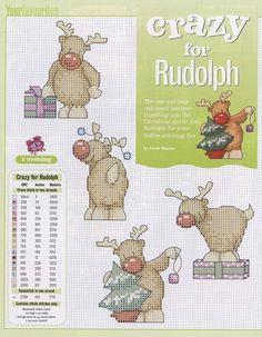 Cute rudolph patterns