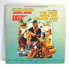 The Man with The Golden Gun James Bond 007 Album Cover by 12be