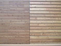 Wood panel for facade OPENLAM® - Simonin