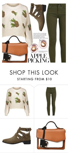 """""""Apple Picking"""" by fattie-zara ❤ liked on Polyvore featuring Anja"""