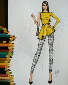 ☀✨ Fashion Illustration We have organized the newest fashion clothes for you. Dress Design Drawing, Dress Design Sketches, Fashion Design Sketchbook, Fashion Design Drawings, Fashion Sketches, Fashion Drawing Dresses, Fashion Illustration Dresses, Dress Illustration, Fashion Design Illustrations