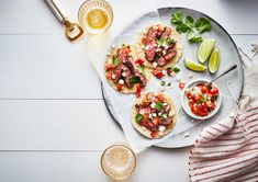 Tostadas: They're flat, they're crispy, and they're delicious.