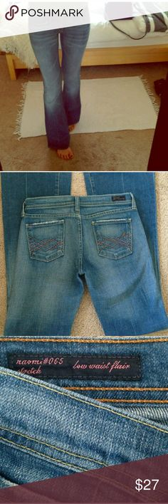"""Authentic Citizens of Humanity Jeans Flare leg, 35""""inseam, light blue wash Citizens of Humanity Jeans Flare & Wide Leg"""