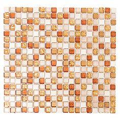 Mosaikfliese Quadrat Crystal Mix XCM M920 (32,2 x 30,5 cm, Ocker, Glänzend) Bauhaus, Enorm, Products, Environment, Embellishments, Stones, Gadget