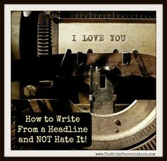 The Write Conversation : How to Write from an Outline and NOT Hate It