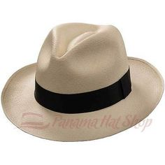 f90ef2b6907 AUTHENTIC PANAMA HAT  MONTECRISTI FEDORA STRAW HAT Mens Straw Hats