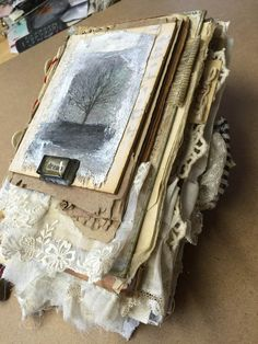 ONLINE CLASS This listing is for a ONLINE CLASS that I have created. I have created a class, that will teach you how to make an altered book. In this class, it will have you taking discarded, vintage, old, antique, recycle items and create a one of a kind book. I will walk you through
