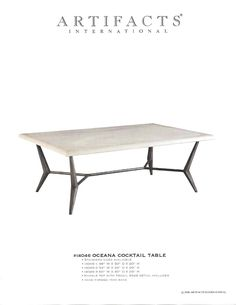 Artifacts International // All Cocktail Tables