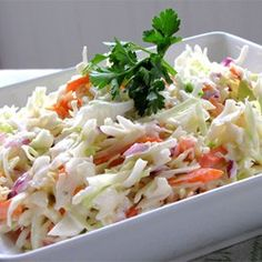 Restaurant-Style Coleslaw I Allrecipes.com