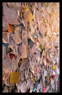 Leaving my own lover letter on Juliet's Wall in Verona, Italy. Has always been on my bucket list. I hope to come to the Casa Di Giulietta in Verona, Italy with someone I truely love. ♥