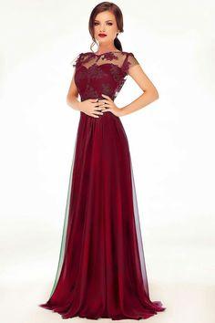 Rochii cu livrare in 24 ore - Miss Grey - Comanda online Gala Dresses, Formal Dresses, Wedding Dresses, Long Evening Gowns, Burgundy Dress, Lovely Dresses, Dream Dress, Dress To Impress, Ball Gowns