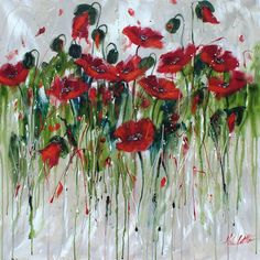 "Helen Cottle ""Dancing Poppies """
