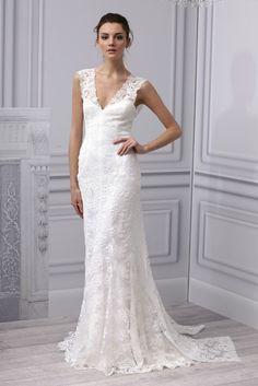 2013 | Monique Lhuillier  wedding Dress #Wedding