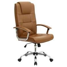Grande High Back Executive Leather Office Chair Computer Desk Furniture