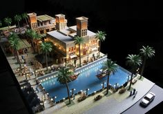 Model Making for Historical Projects in Dubai #scalemodels #scale #architecture #dubai