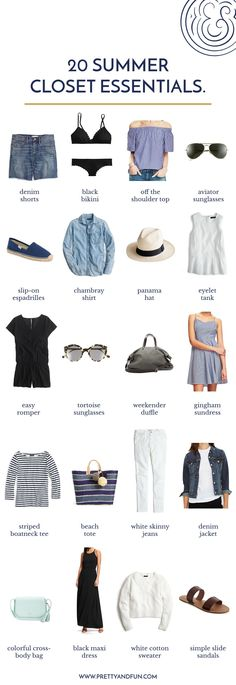 Happy First Day of Summer! After a beautiful, warm weekend I'm finally in a summertime state of mind and spent some time yesterday pulling out some favorite summer pieces to prep for my upcoming trip back to Chicago. While doing a bit of closet purging and organizing I pulled together a little list of my ultimate Read More #WardrobeEssentials