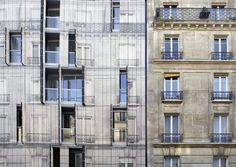 Danse du ventre pour façade haussmannienne signée Chartier-Corbasson   Chroniques d'Architecture