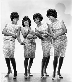 "Motown/Tamla Records' first U.S. #1 hit was ""Please Mr. Postman"" by the Marvelettes. What other sounds do you remember from these stylish ladies? (Photo: Michael Ochs Archives/Getty Images)"