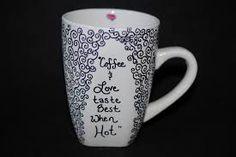 diy sharpie mug - Buscar con Google