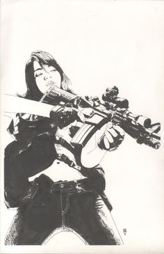 Splash Page Comic Art :: For Sale Artwork :: Jennifer Blood by artist Tim Bradstreet