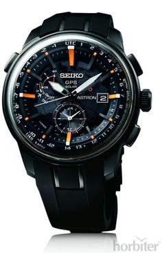 Seiko has been putting serious resources into the success of their Seiko Astron GPS Solar watch collection that they debuted about two years ago. Amazing Watches, Beautiful Watches, Cool Watches, Dream Watches, Sport Watches, Male Watches, Citizen Watches, Army Watches, Fossil Watches
