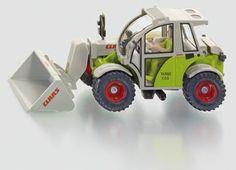 SIKU Farmer 1:32 Claas Targo C50 Toy Telescopic Farm Loader Die-Cast Metal