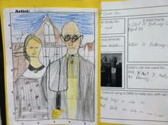Great idea to write about each project before/during/after and then attach it to artwork. Literacy plus art!