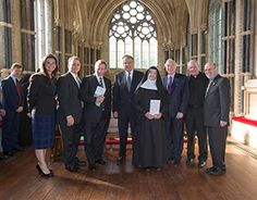 Irish prime minister launches new Notre Dame program at Kylemore Abbey // News // Notre Dame News // University of Notre Dame