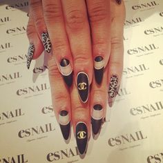 Matte Chanel nails = dope nails design ideas= nails swag obsession= nail porn
