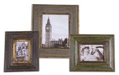 Uttermost 18554 Taneal Photo Frames Set/3