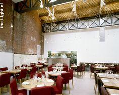 The Light, Shoreditch High Street, London Bar Lighting, Restaurant Bar, Spaces, London, Table Decorations, Street, Furniture, Home Decor, Decoration Home