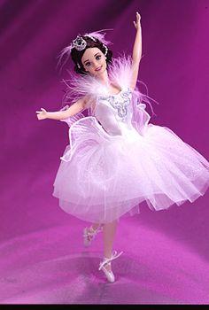 Barbie® Doll as the Swan Queen in Swan Lake (Classic Ballet Series, Barbie Blog, Barbie Website, Barbie Dolls For Sale, Barbie I, Barbie World, Barbie Dress, Rapunzel Barbie, Barbie Stuff, Ballerina Barbie