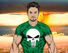"Check out new work on my @Behance portfolio: ""Punisher"" http://on.be.net/1izo22c"